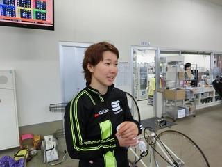 長澤選手「もっと千切りたかった」