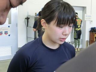 石井選手「ちょっと危ないレースでした」