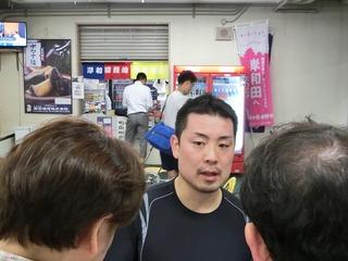 岩津選手「ラストがきつかった」