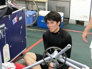 松岡選手「脚が一杯だった」