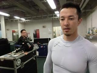 稲垣選手「結果を残したかった。申し訳ない」