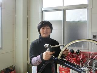 岡村育子選手