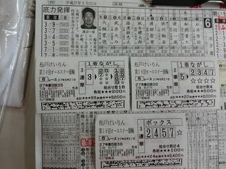 3日目6R車券