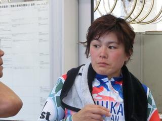 奥井選手「知佳ちゃんと脚が合ってしまったけど」