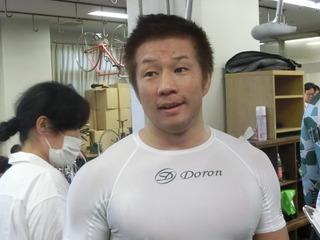 小倉選手「恵まれもあるけど、感じは良い」