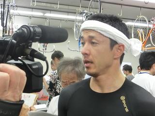 稲垣選手「自分で前々踏んで行けた」