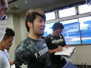 山田選手「ハプニング大賞のようなレース」