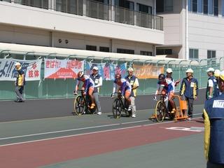 男子チームスプリント予選 和歌山県チーム準備完了!