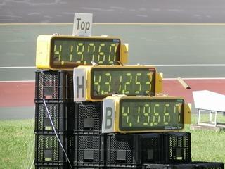 4分19秒760 和歌山県チームがトップ!