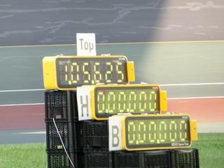 1分5秒625の大会新記録で堂々の優勝です