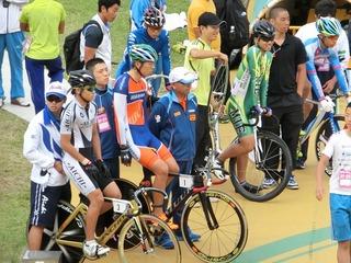 発走の時を待つ永橋選手