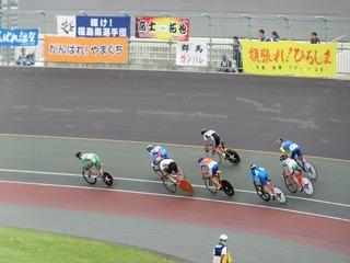 少年男子4�q速度競走予選3組 天春(三重)がスタートダッシュを決める