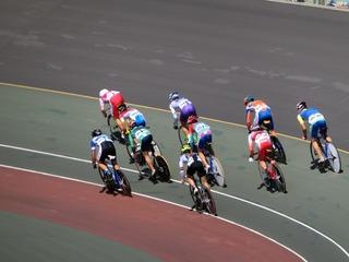 少年4�q速度競走準決勝2組 山田がスタートダッシュを決める