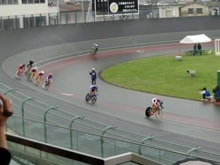 少年男子4�q速度競走 4周目HS線を永橋が奪って先頭責任を完了させる