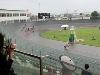 少年男子4�q速度競走 6周目BKから安川が大逃げを打つ