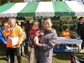 ユキミさんは54�q/hで一般女性の部優勝!
