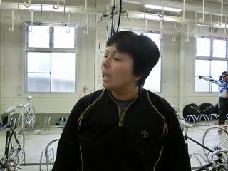 岡村選手「踏み出し勝負になって、ギヤ上げした分、厳しかった」
