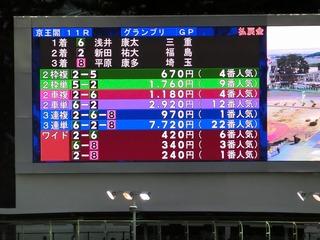 浅井Vで車券はまずまずの好配当に