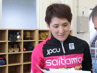 高橋梨香選手「ギヤ重かったが、ラスト伸びてくれた」