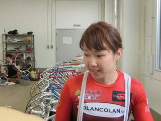 長澤選手「今日はしっかり踏み切れた」