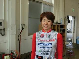 中嶋里美選手
