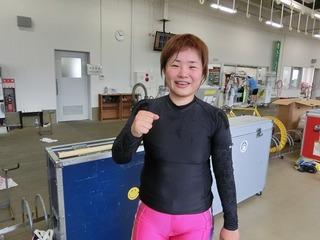 杉沢選手「まだまだ回復途上。レベルアップしなければ」
