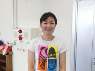 坂口楓華選手