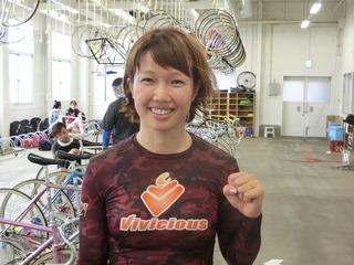 長澤選手「昨日よりは体が軽かった」