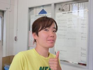 飯田選手「明日はやります!」