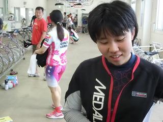 橋本選手「明日は自分のレースをしたい」