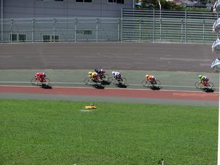 最終日7R「ガールズ決勝戦」 最終2コーナー過ぎの攻防