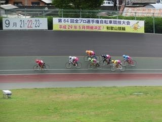 最終日11R「ガールズ決勝戦」 ジャン3コーナーの攻防