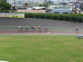 最終日11R「ガールズ決勝戦」 最終3コーナーの攻防