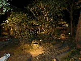 「郷屋敷」の立派なお庭