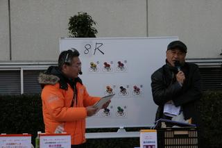 井上薫さんも応援に来て下さいました