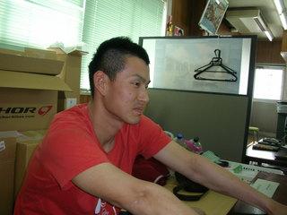 石田選手�A