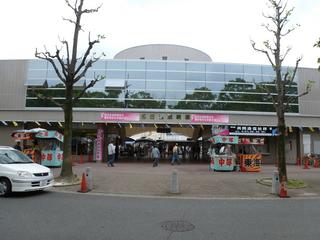 名古屋競輪場 正面入場門