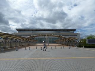 松山競輪場 外観