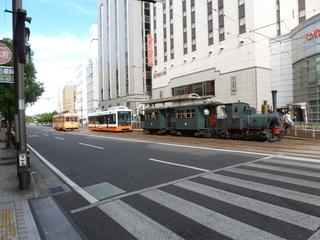 マドンナ列車と新旧車両の競演