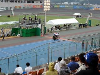 成年男子スプリント決勝1本目 橋本凌が橋本瑠にイン差しで先着