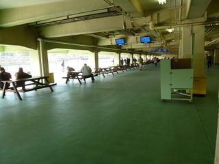 大宮競輪場 バックスタンド一般席内部