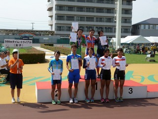 女子500mT.T.表彰式