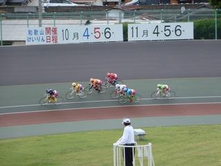 2日目6R 最終3コーナー過ぎの攻防