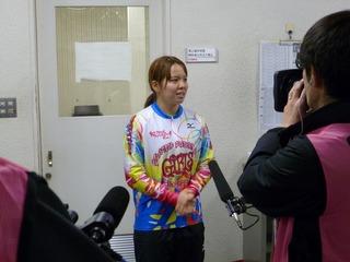 優勝した梶田選手「良い一年の締めくくりになりました」