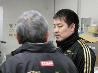 「深谷のカマシが決まらなかったのが全て」と振り返る岩津選手
