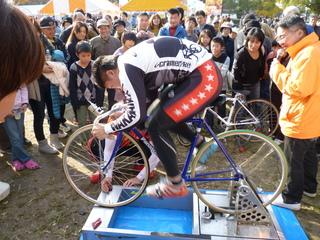 藤田選手のチャレンジ 記録は93�q/h